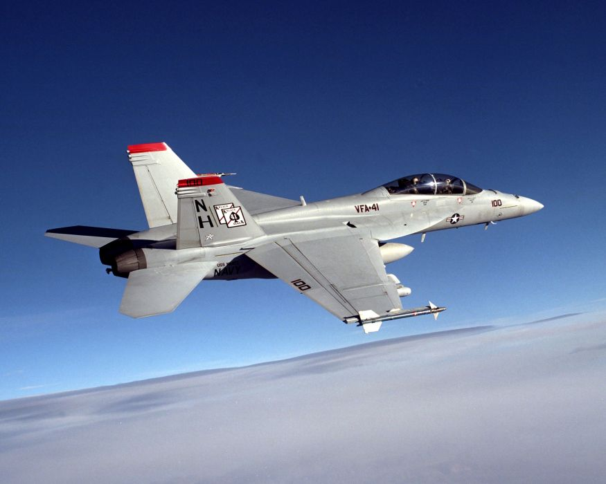 F-18 fighter jet military plane airplane usa (27) wallpaper