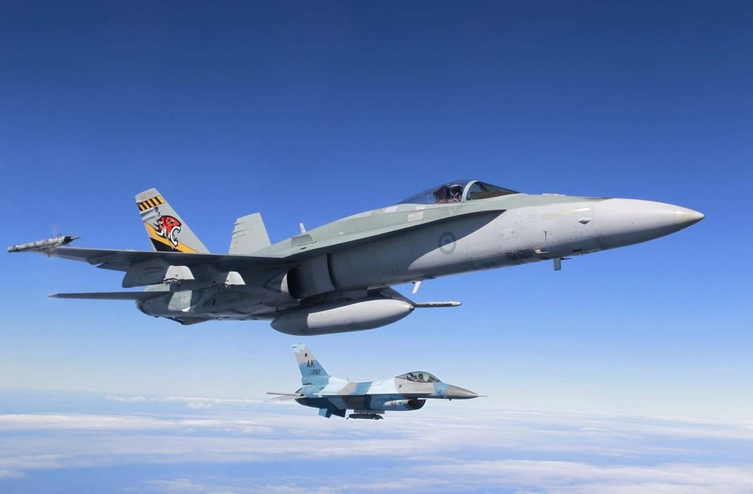 F-18 fighter jet military plane airplane usa (29) wallpaper