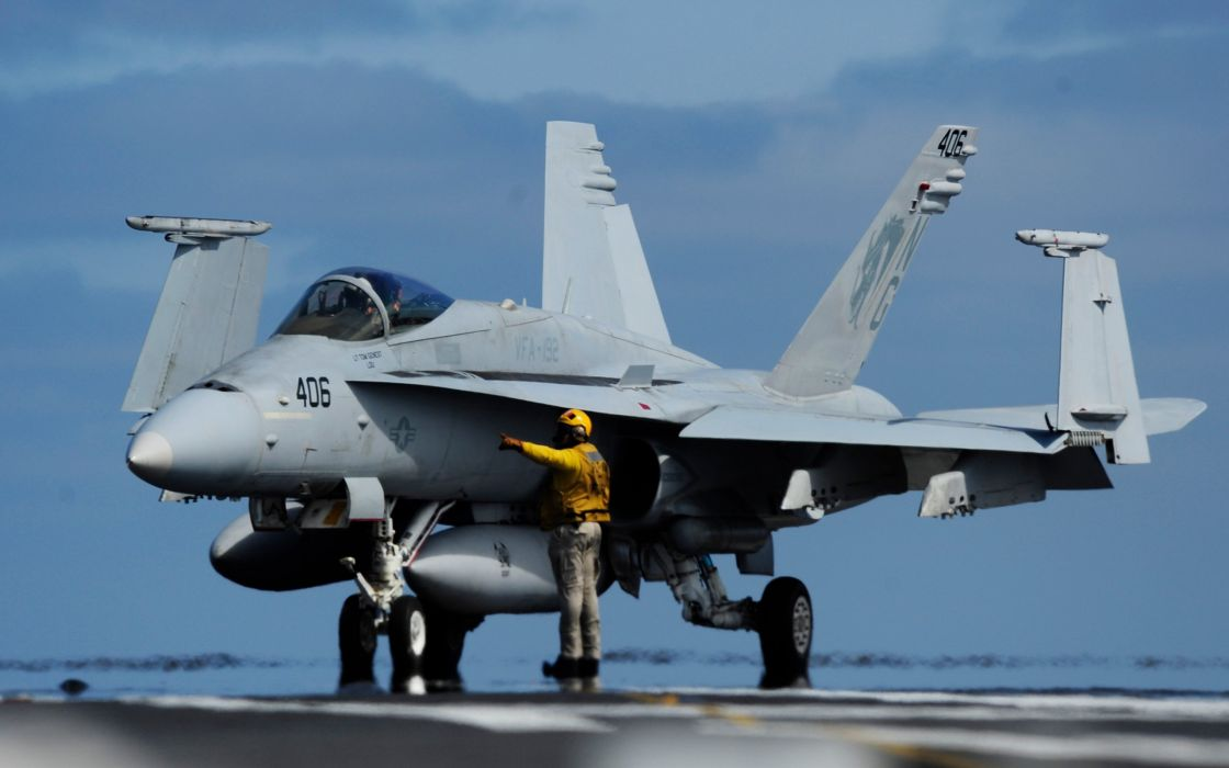F-18 fighter jet military plane airplane usa (40) wallpaper
