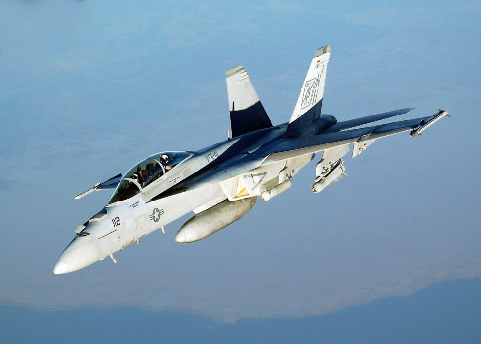 F-18 fighter jet military plane airplane usa (43) wallpaper