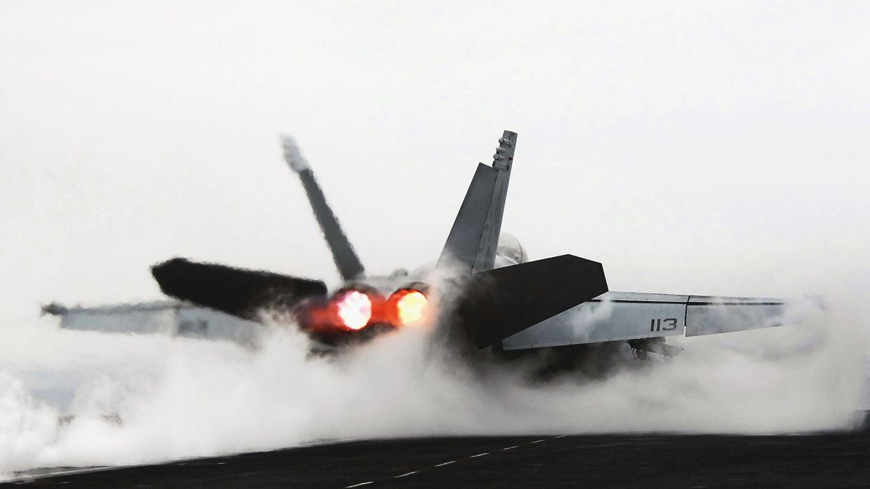 F-18 fighter jet military plane airplane usa (64) wallpaper