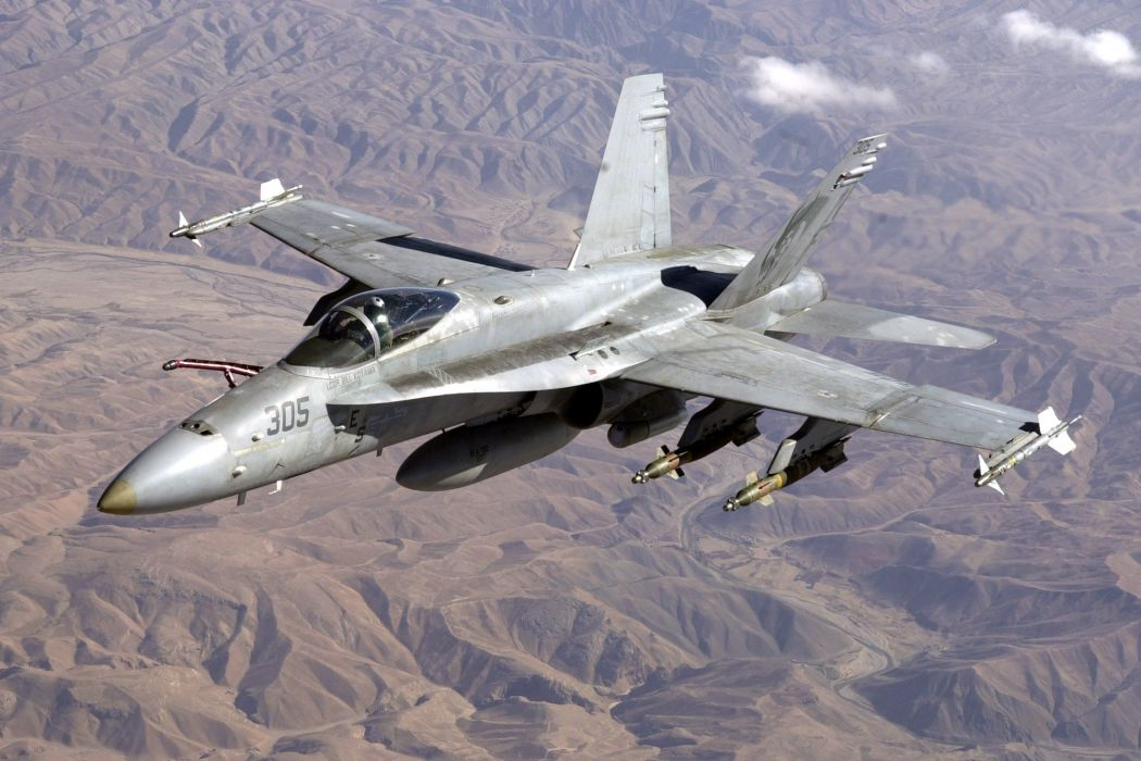 F-18 fighter jet military plane airplane usa (70) wallpaper