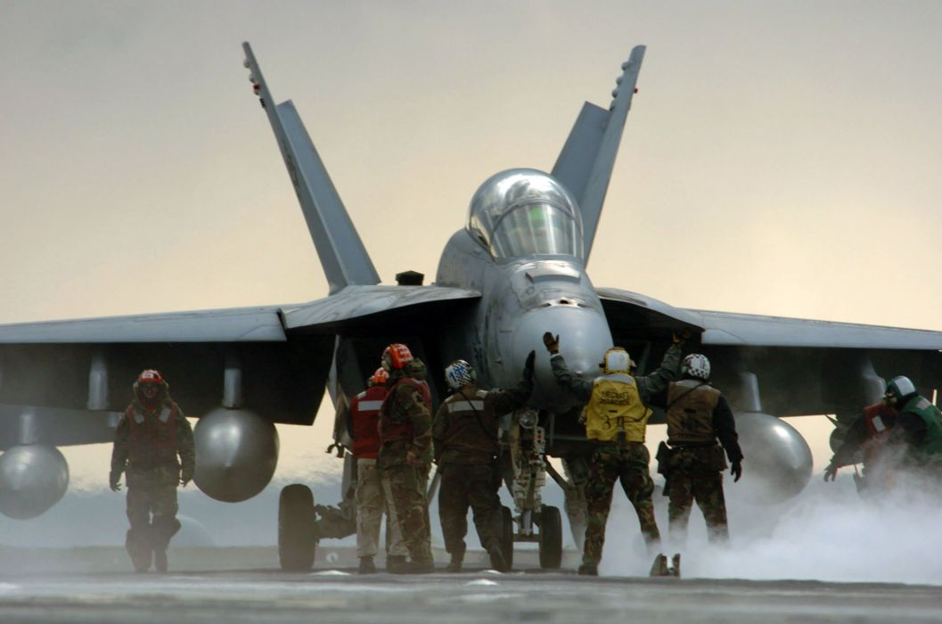F-18 fighter jet military plane airplane usa (71) wallpaper