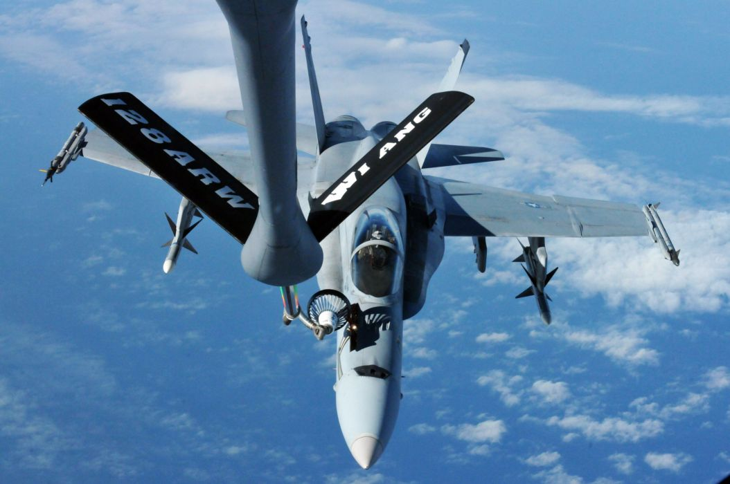 F-18 fighter jet military plane airplane usa (76) wallpaper