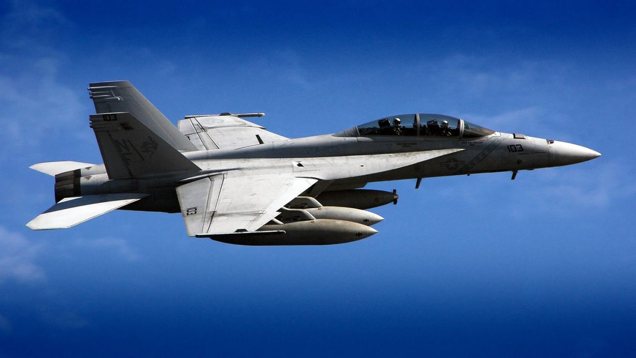 F-18 fighter jet military plane airplane usa (80) wallpaper