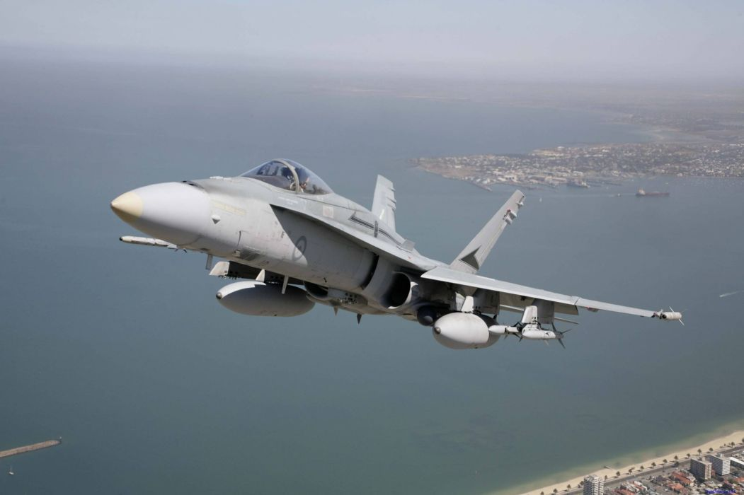 F-18 fighter jet military plane airplane usa (96) wallpaper