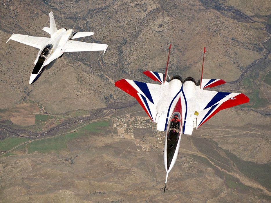 F-18 fighter jet military plane airplane usa (107) wallpaper