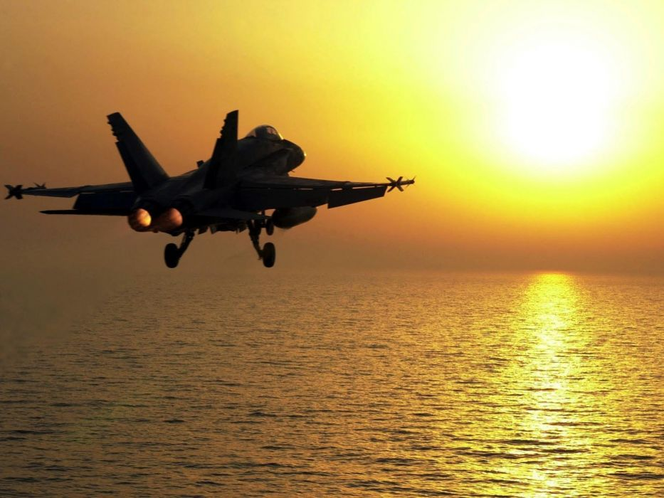 F-18 fighter jet military plane airplane usa (108) wallpaper