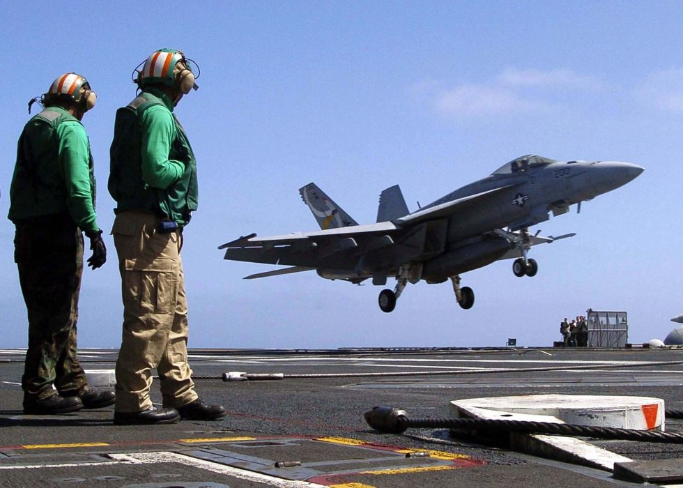 F-18 fighter jet military plane airplane usa (1) wallpaper