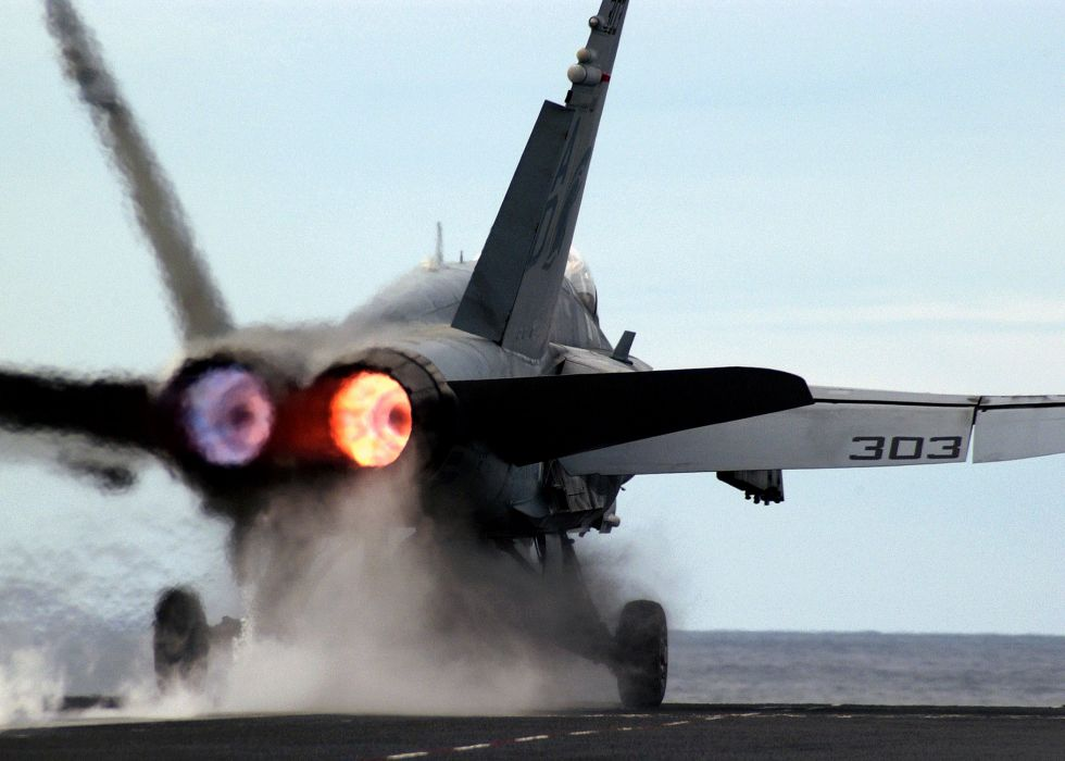 F-18 fighter jet military plane airplane usa (4) wallpaper