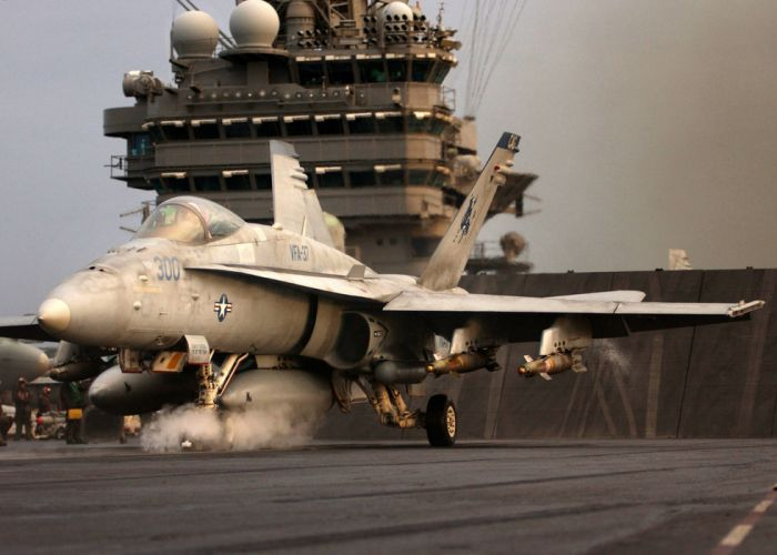F-18 fighter jet military plane airplane usa (17) wallpaper