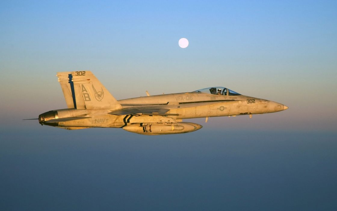 F-18 fighter jet military plane airplane usa (18) wallpaper