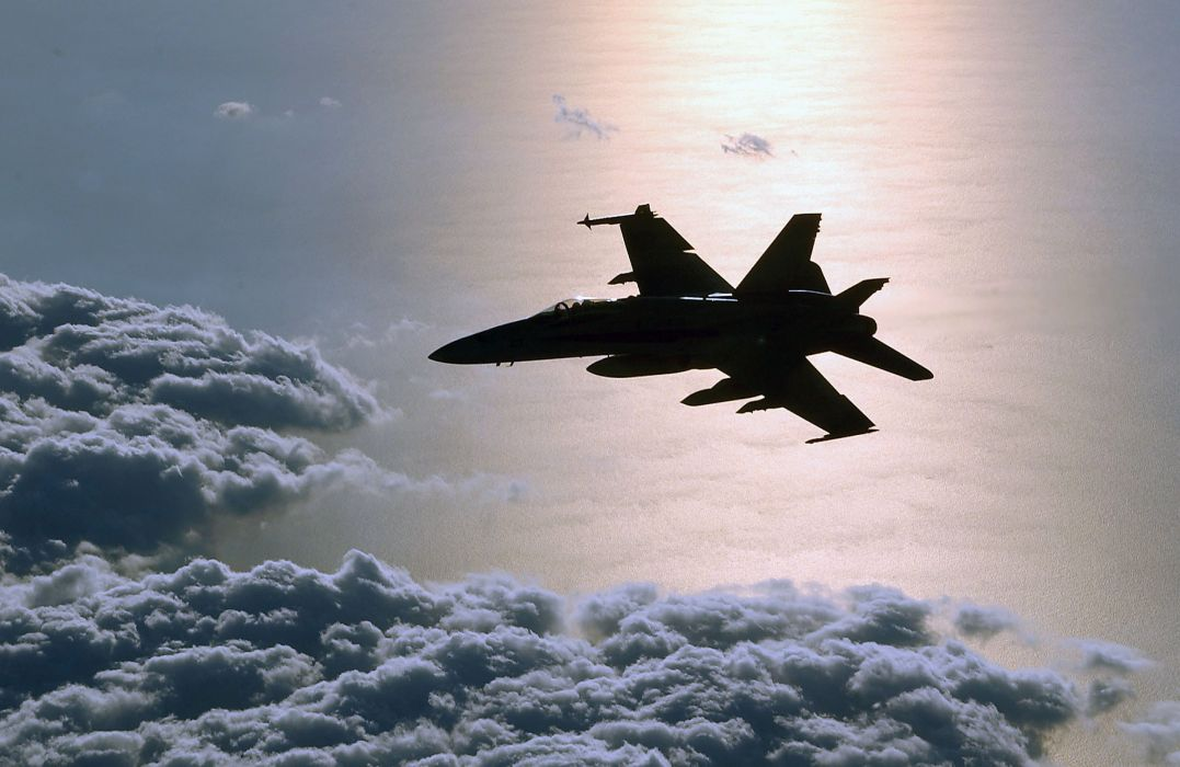 F-18 fighter jet military plane airplane usa (21) wallpaper