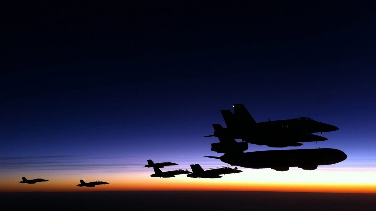 F-18 fighter jet military plane airplane usa (25) wallpaper