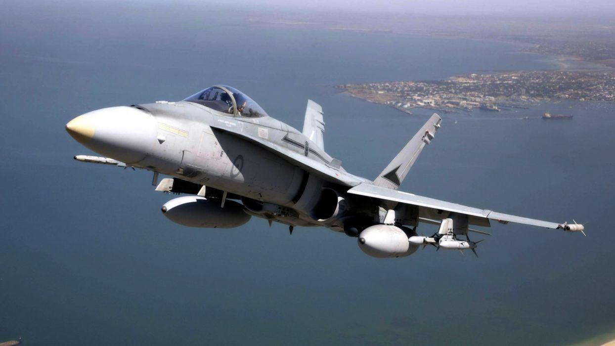 F-18 fighter jet military plane airplane usa (30) wallpaper