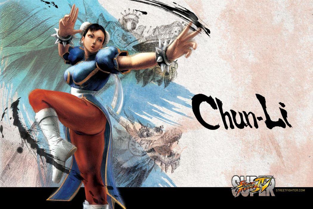 Chun-li - Super Street Fighter Iv wallpaper