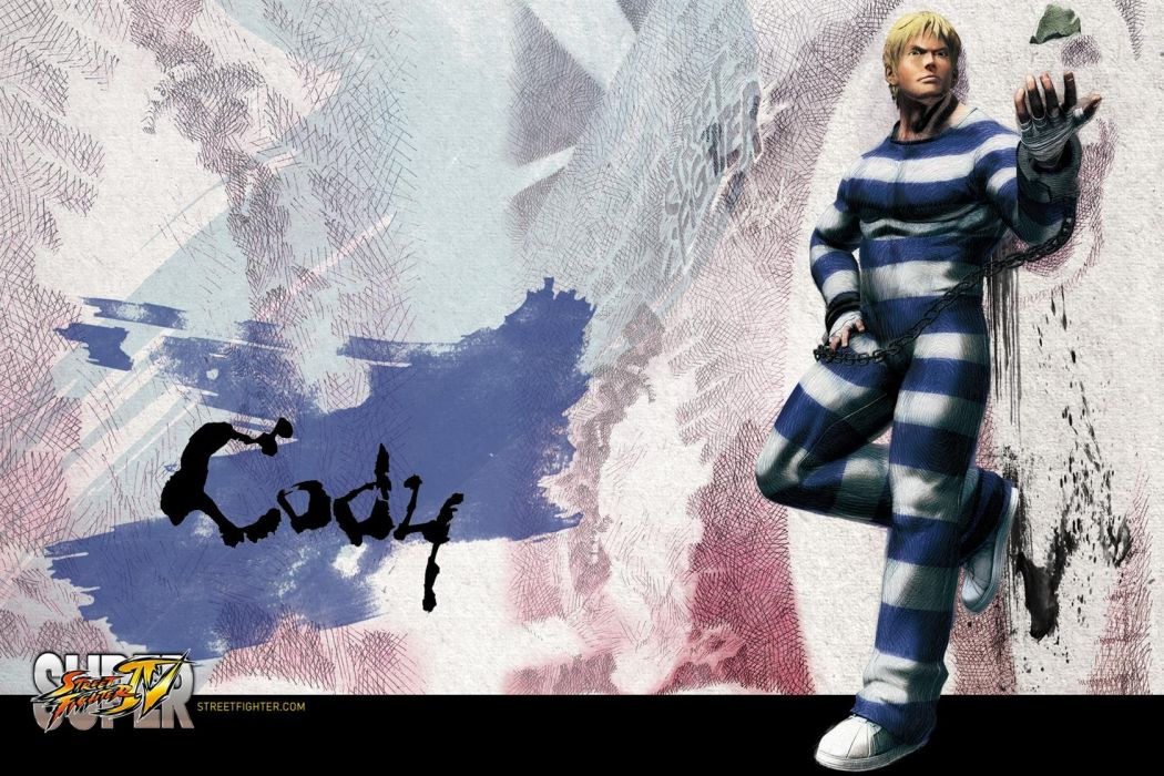 Cody - Super Street Fighter Iv wallpaper