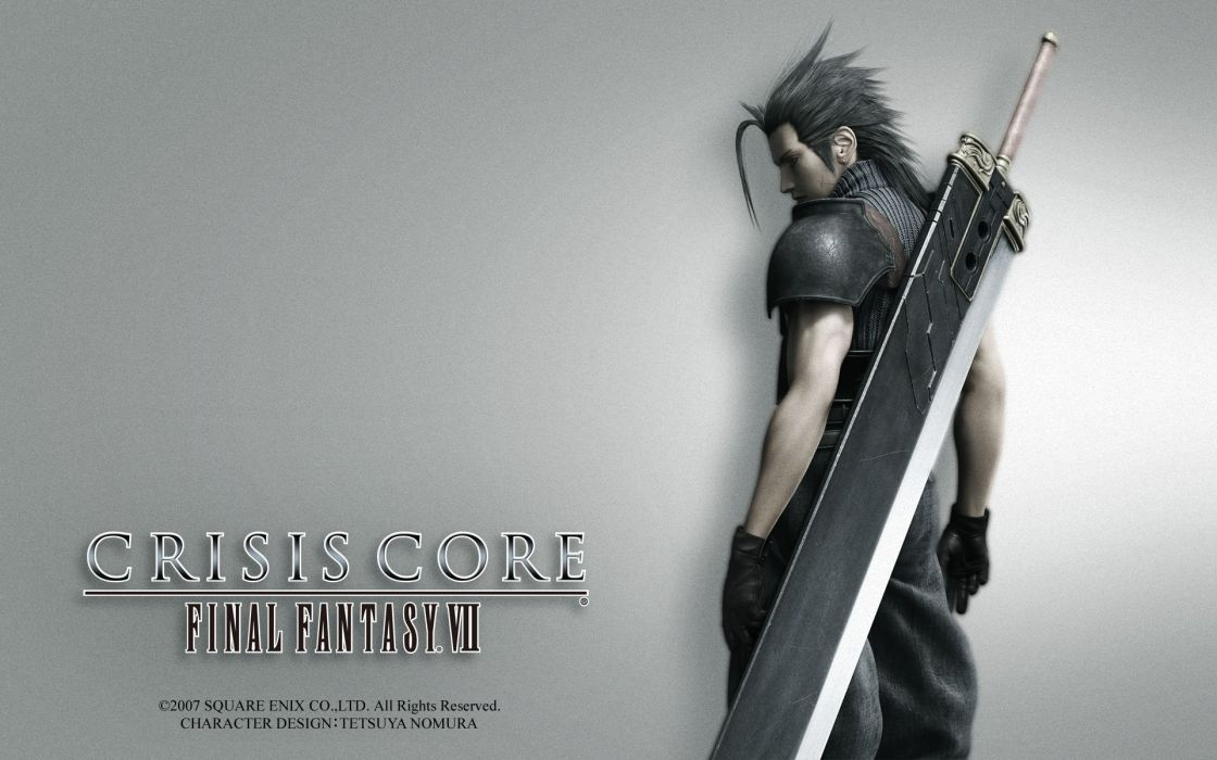 Crisis Core Final Fantasy VII wallpaper