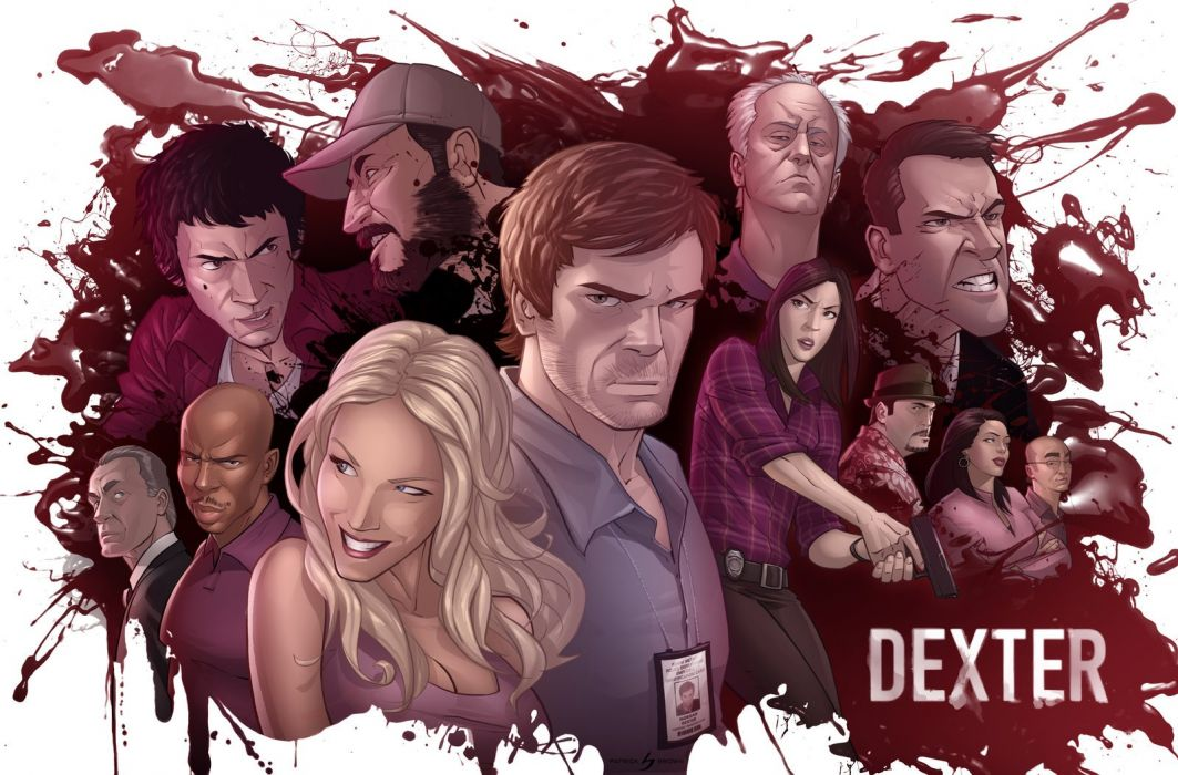 Dexter - The Dark Defender wallpaper