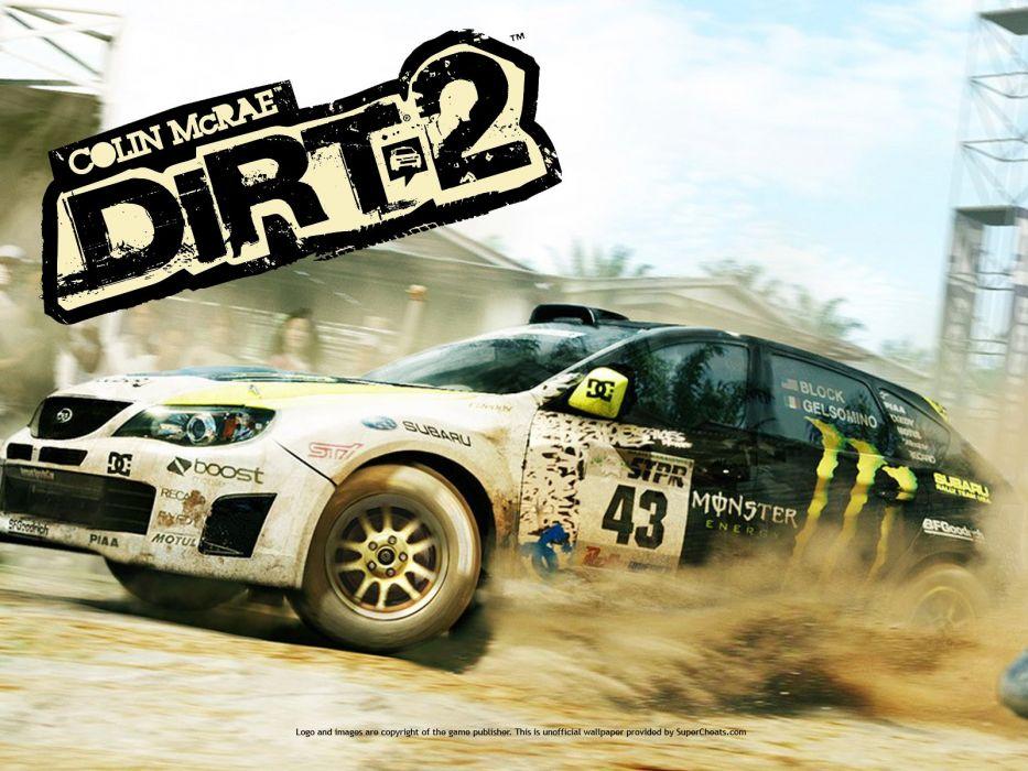 Dirt 2 Colin McRae wallpaper