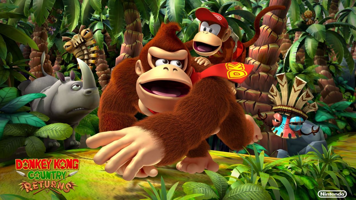 Donkey Kong Country Returns wallpaper