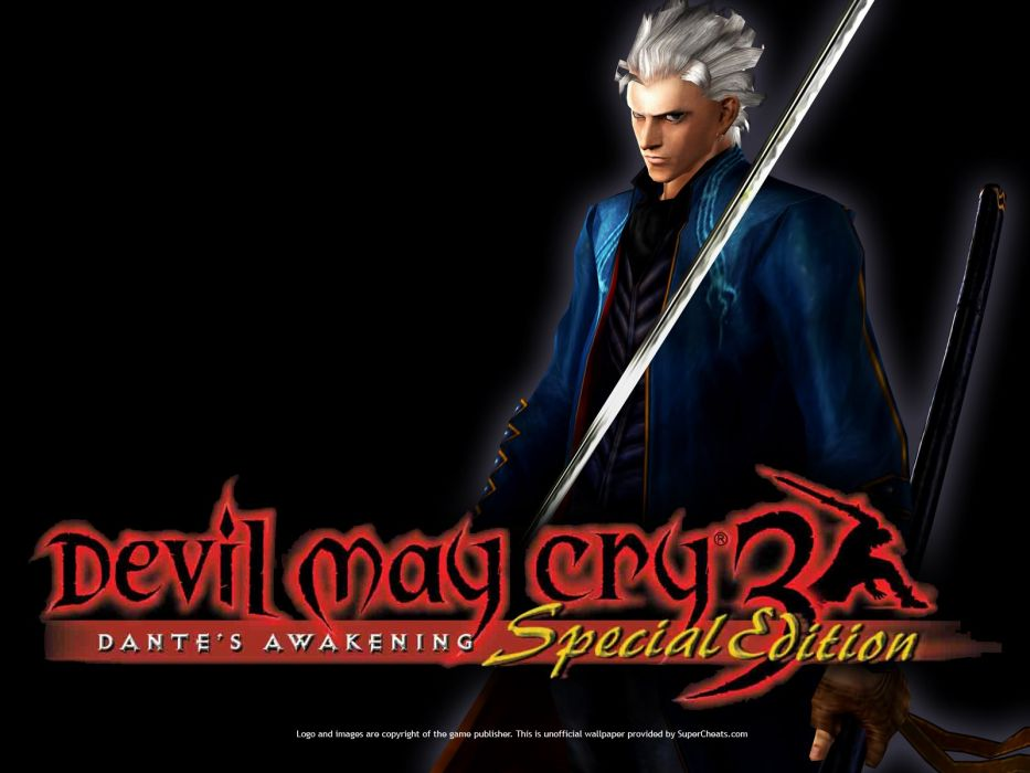Devil May Cry 3 Special Edition wallpaper