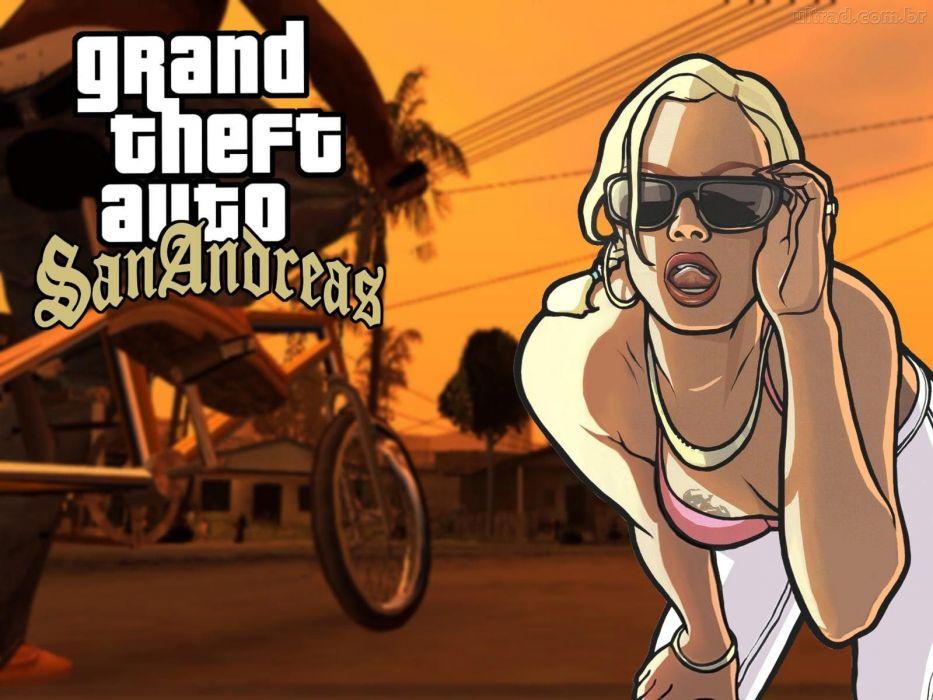 Grand Theft Auto - San Andreas wallpaper