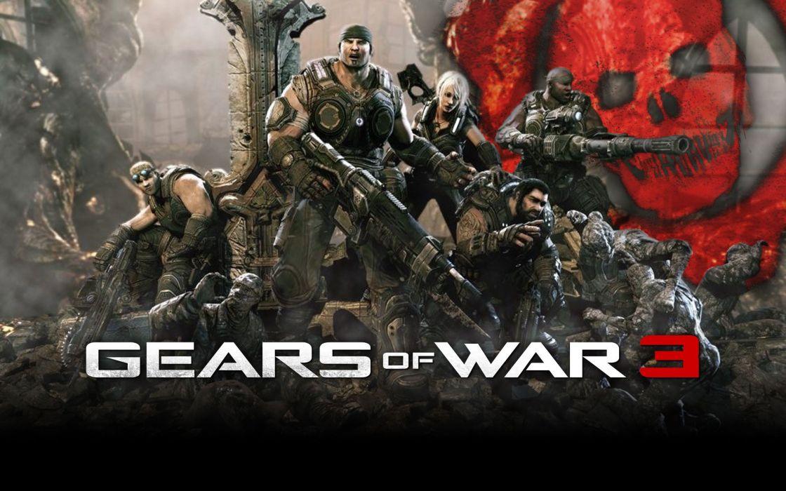 Gears of War 3 wallpaper