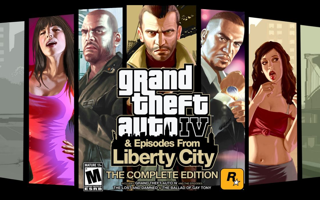 GTA IV Complete Edition wallpaper