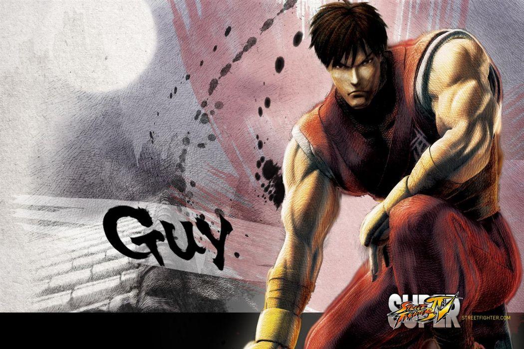 Guy - Super Street Fighter Iv wallpaper
