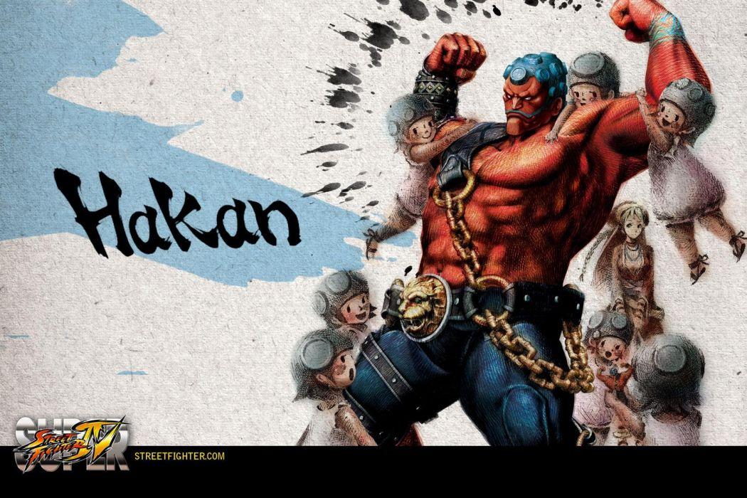 Hakan - Super Street Fighter Iv wallpaper