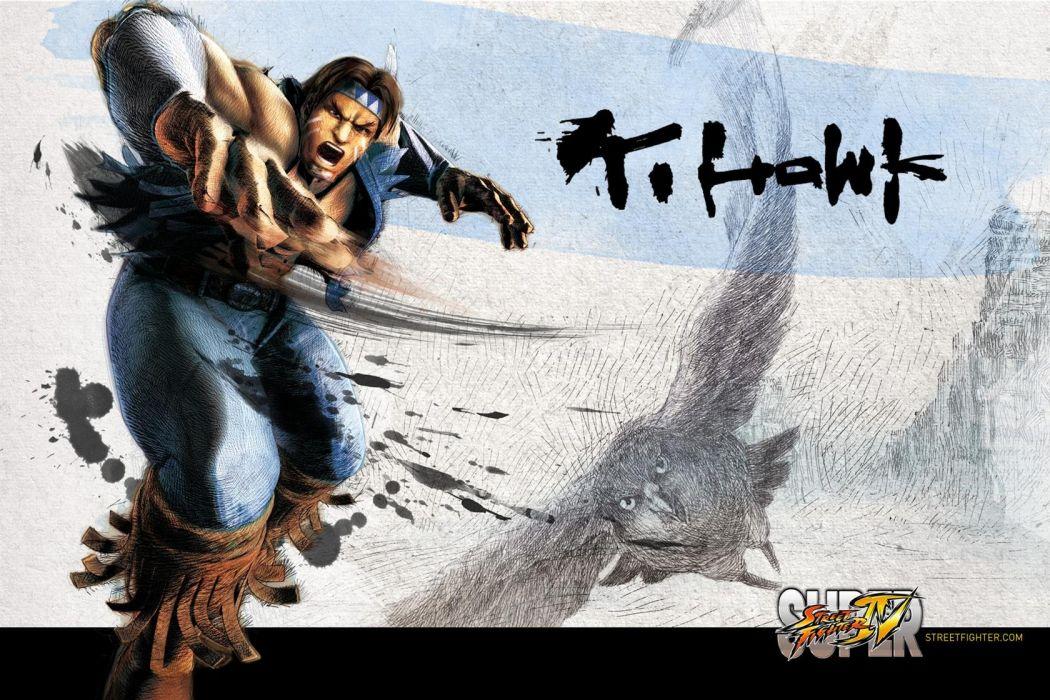 Hawk - Super Street Fighter Iv wallpaper