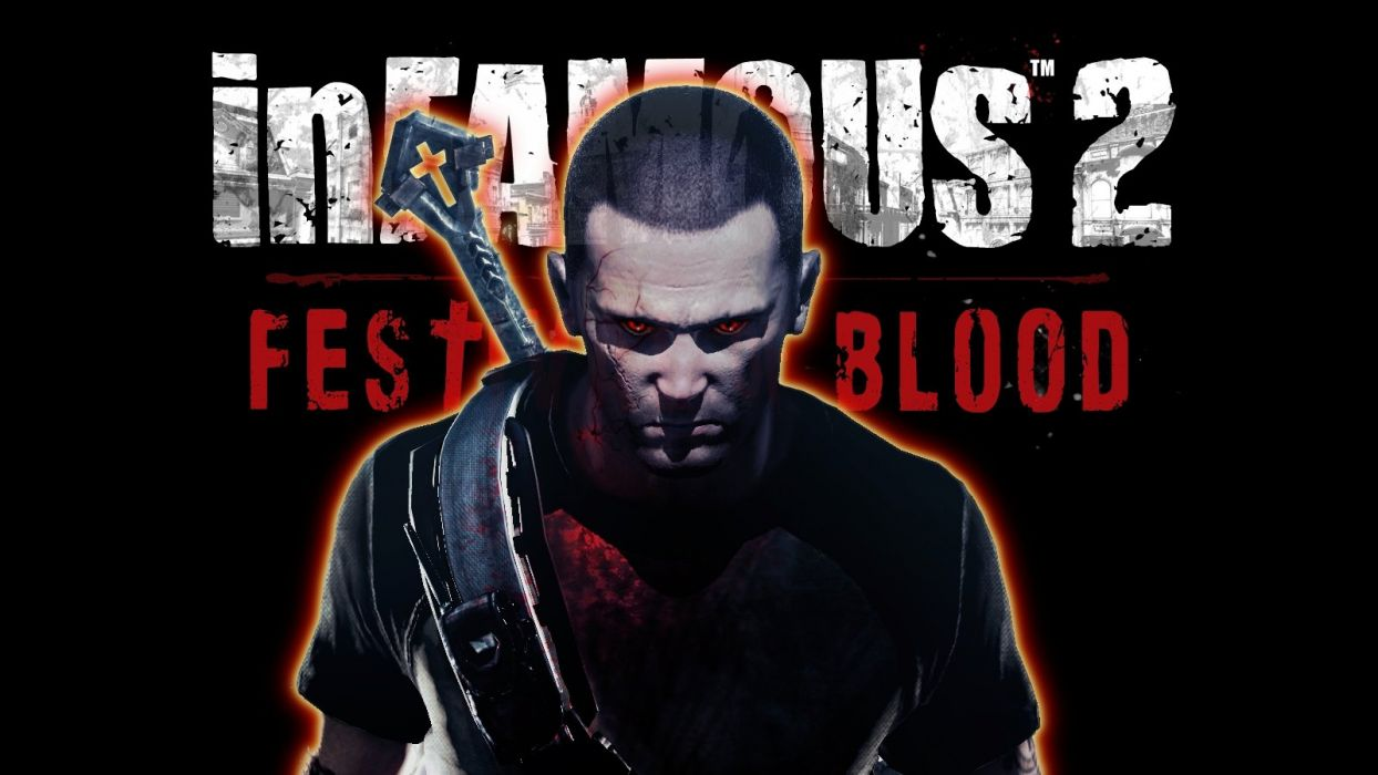inFamous Festival of Blood wallpaper