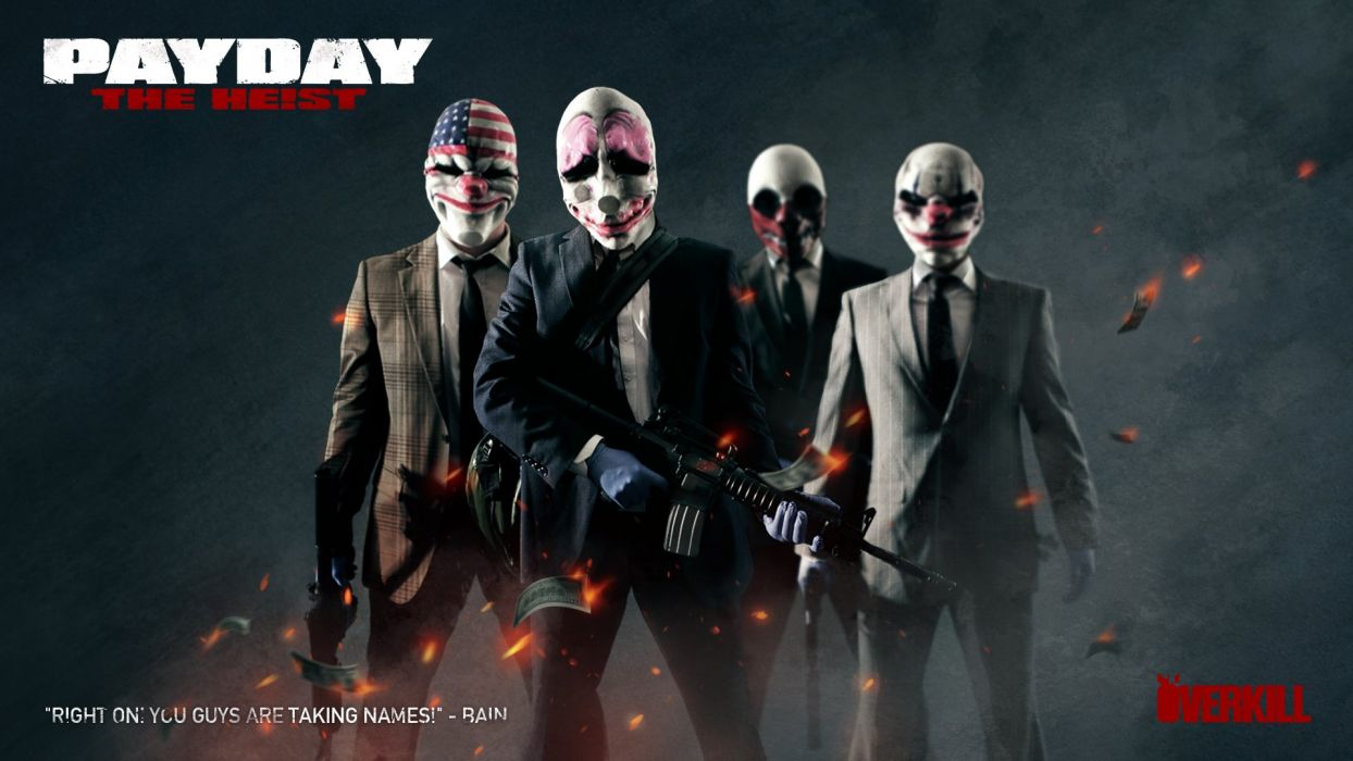 PayDay - The Heist wallpaper