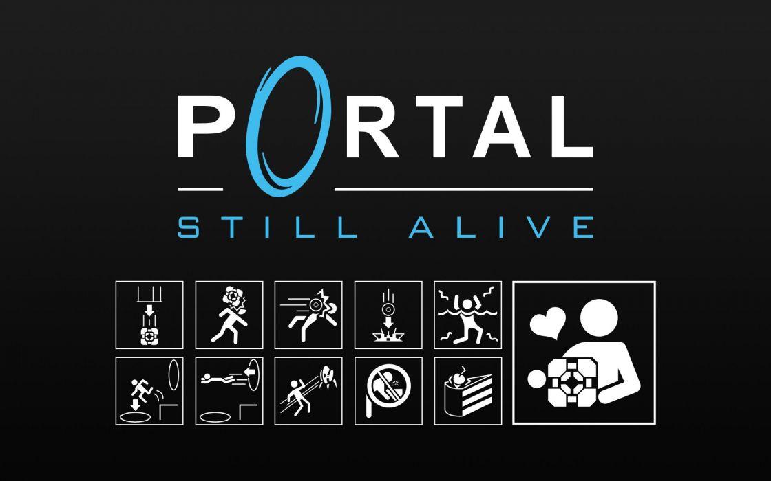 Portal Still Alive wallpaper
