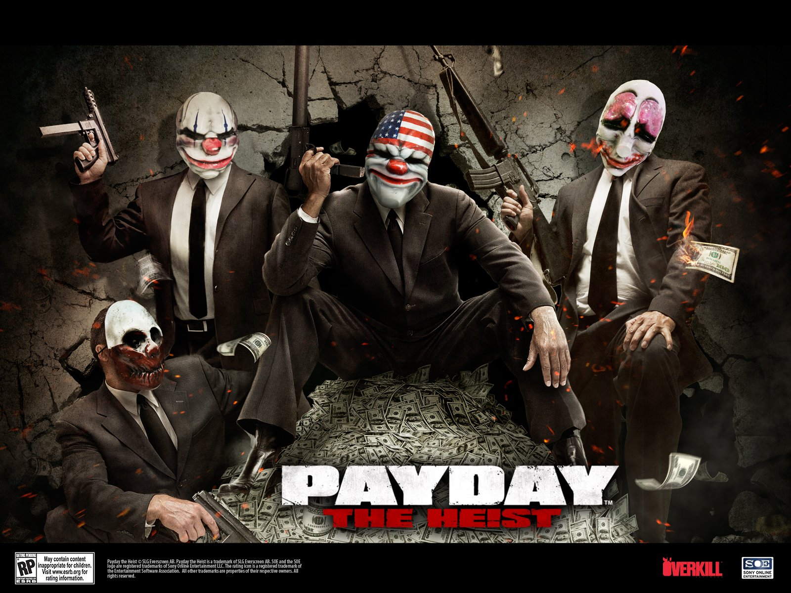 Payday The Heist Wallpaper 39158 INEXUS