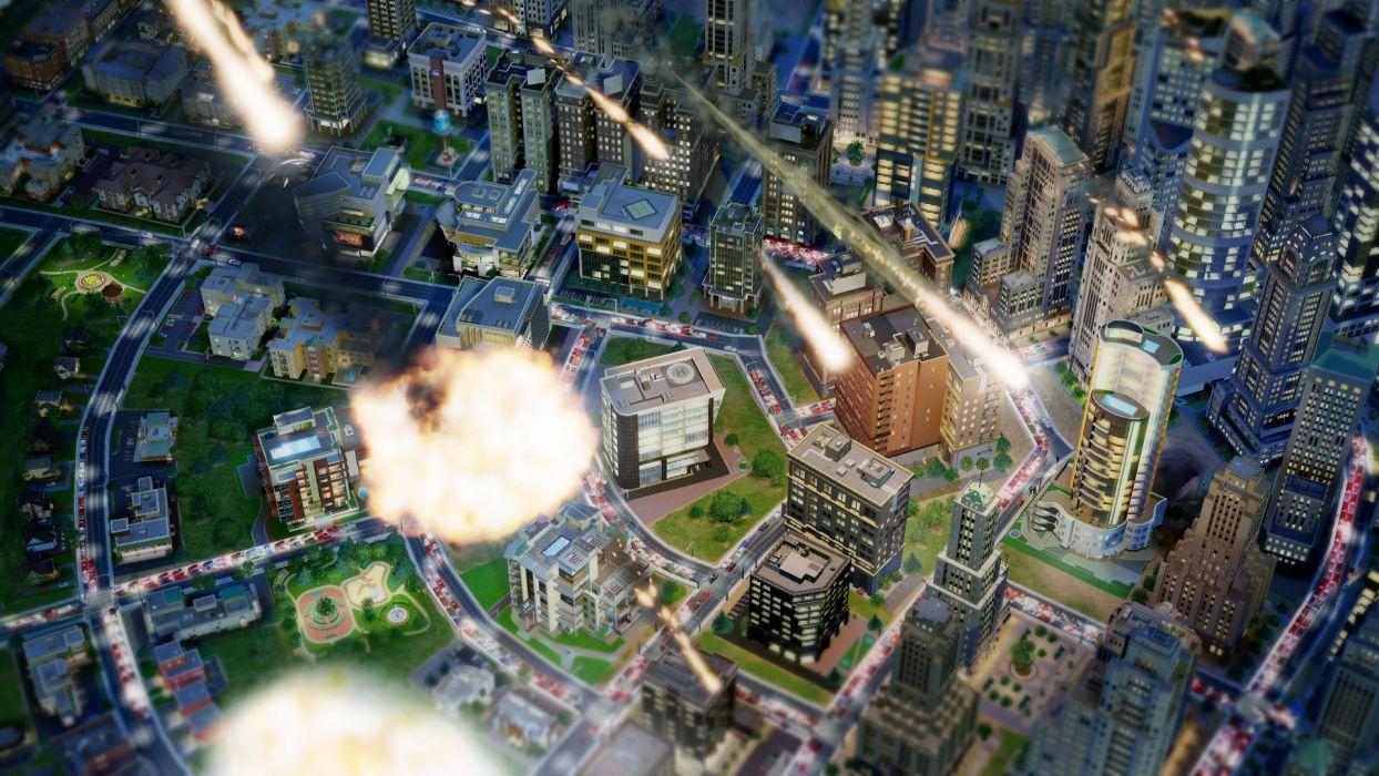 SimCity (2013) wallpaper