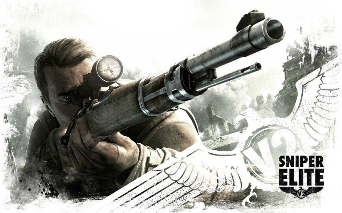 Sniper Elite V2 wallpaper