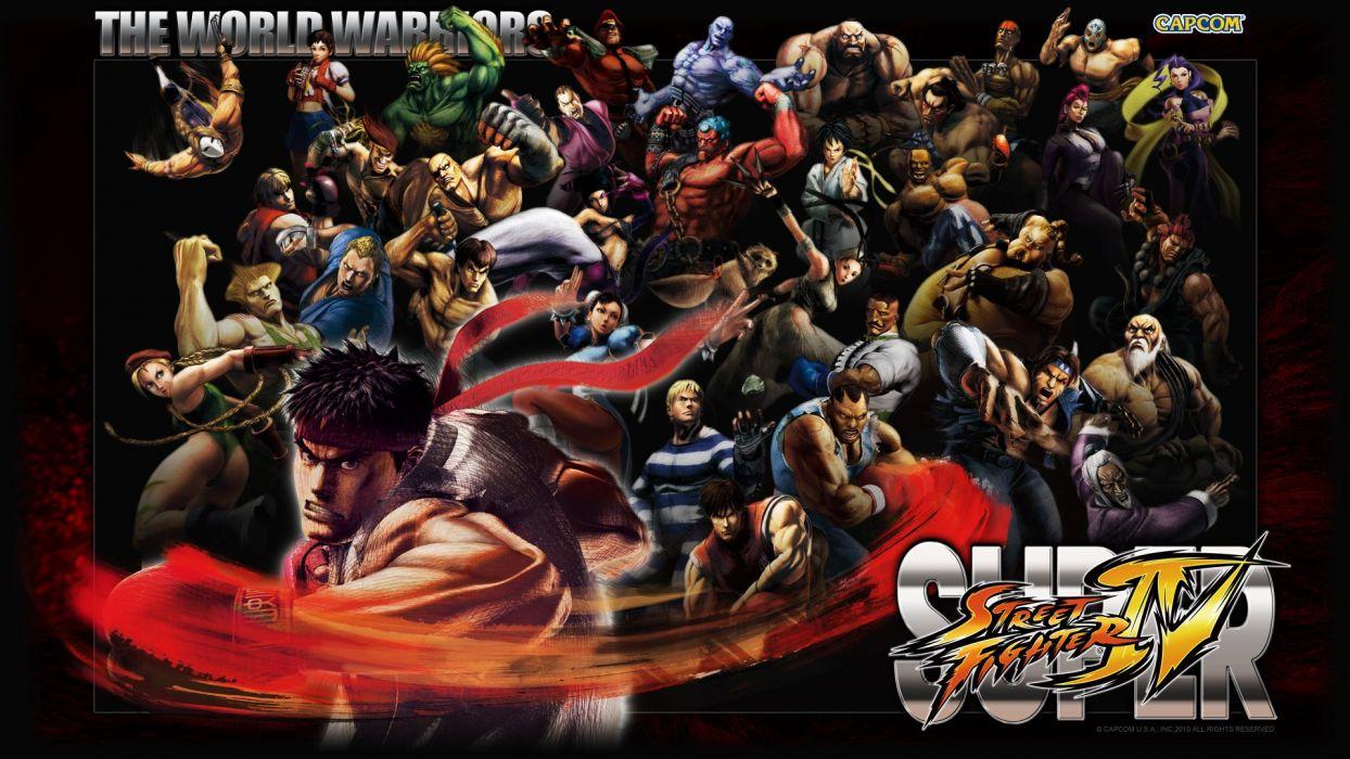 Super Street Fighter IV wallpaper