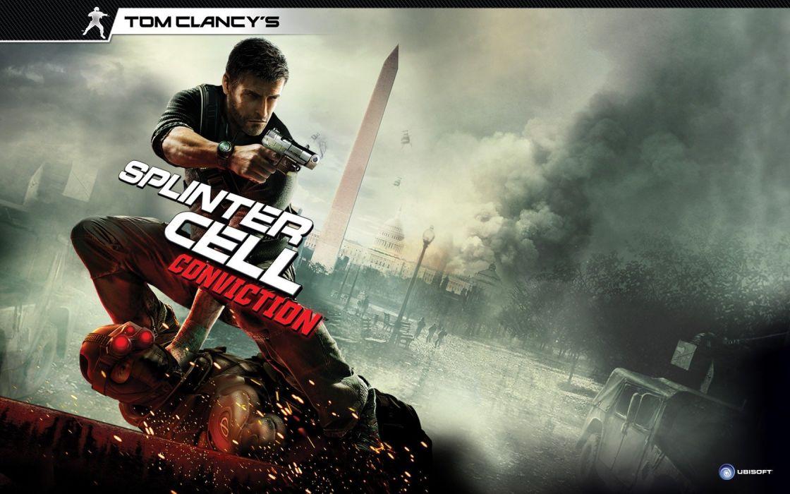 Tom Clancyaeus Splinter Cell Conviction wallpaper