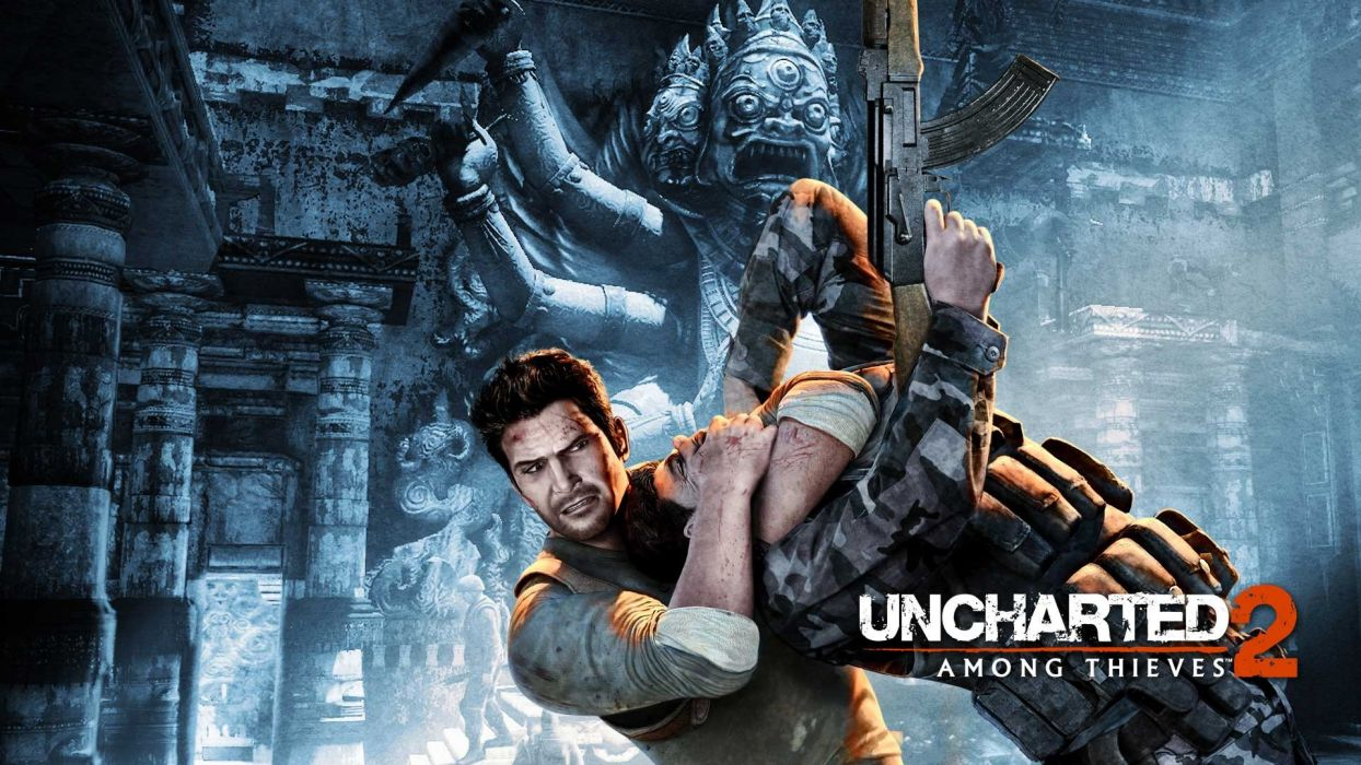 Uncharted 2 Among Thieves (1) wallpaper
