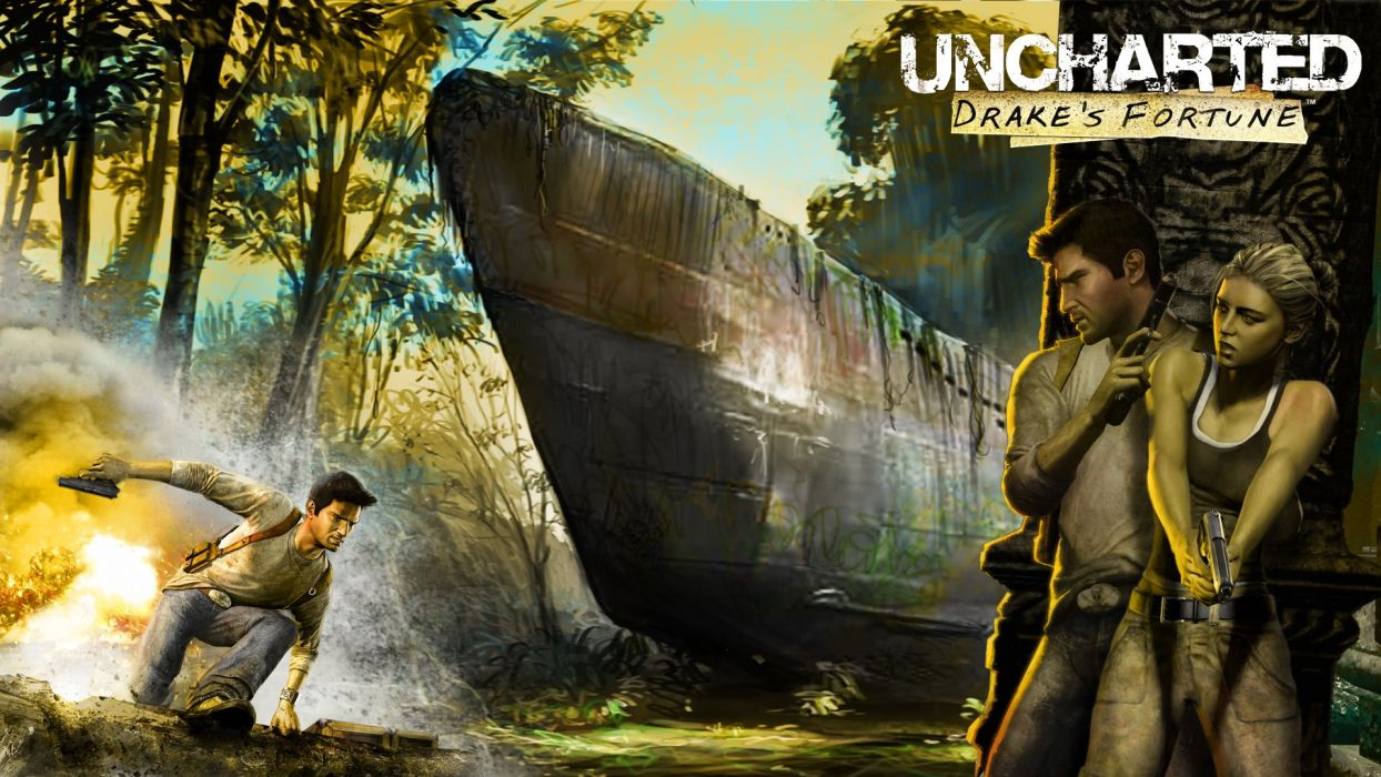 Uncharted Drake's Fortune wallpaper