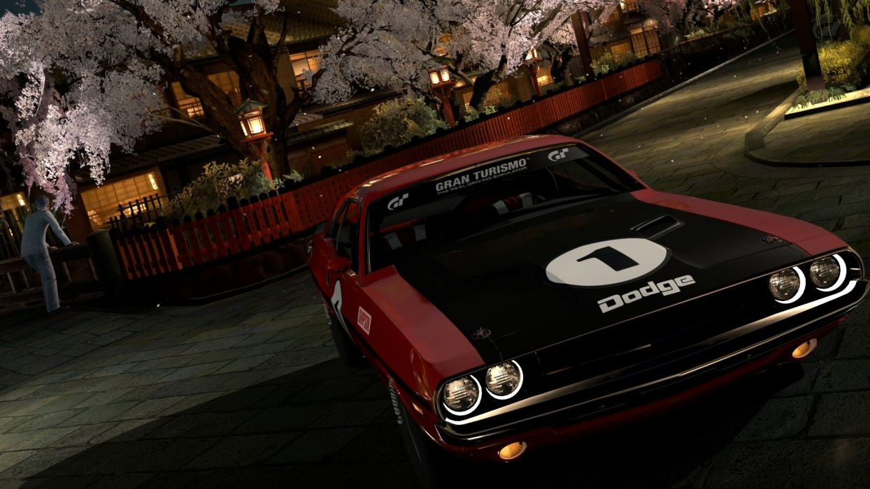 video games cars vehicles Dodge Challenger Gran Turismo 5 Playstation 3 wallpaper