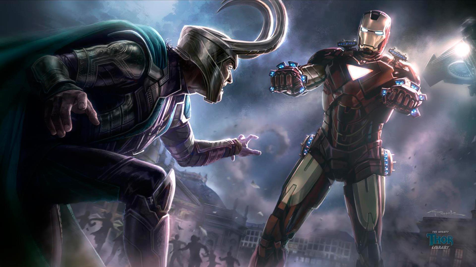 Avengers Loki armored suit