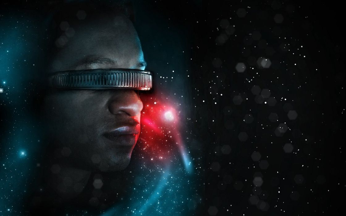 outer space Star Trek Geordi La Forge science fiction Star Trek The Next Generation wallpaper