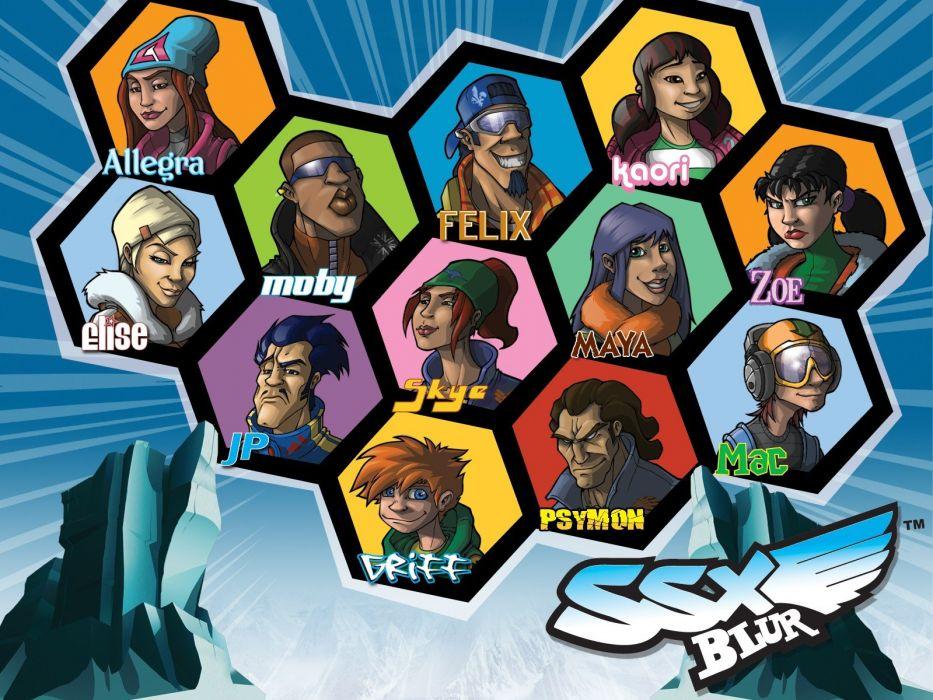 Nintendo SSX wii SSX Blur wallpaper