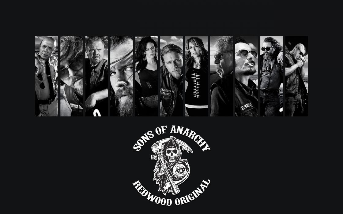 Sons Of Anarchy TV series wallpaper