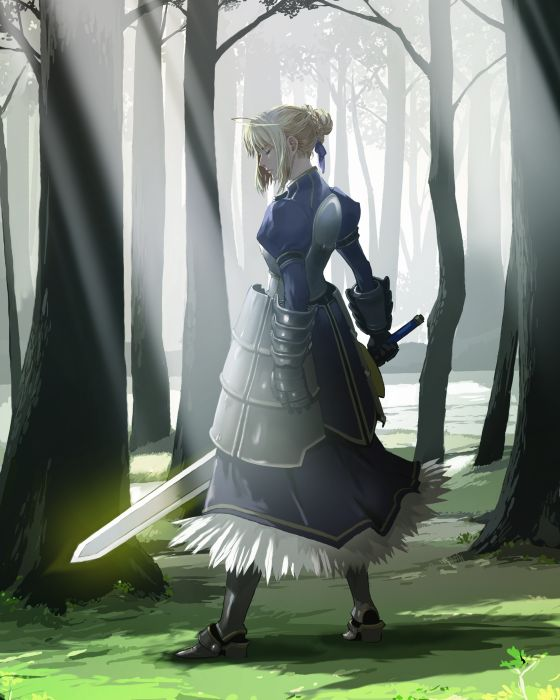 Fate/Stay Night Saber  wallpaper