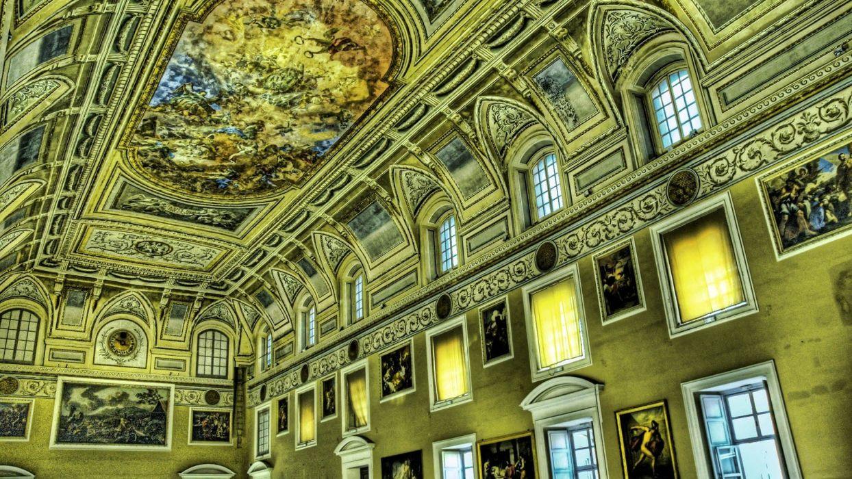 paintings architecture buildings wallpaper