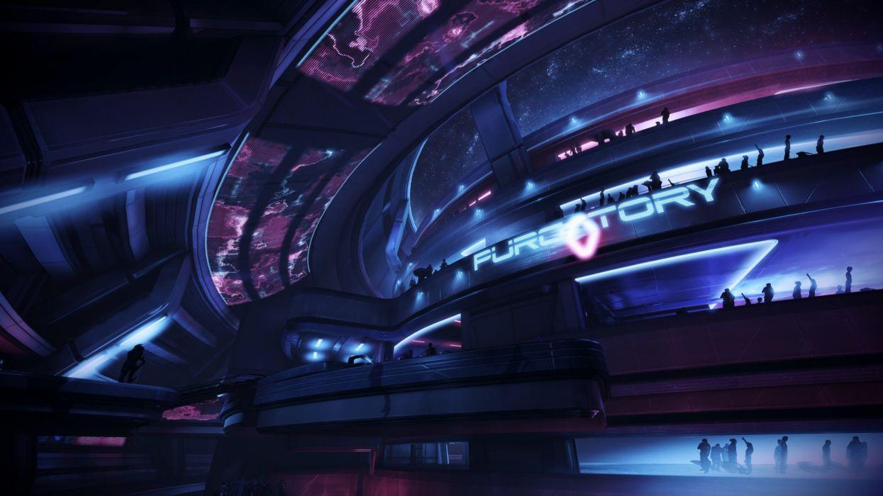 video games Mass Effect 3 purgatory wallpaper